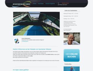 sportcenter-wittenau.de screenshot