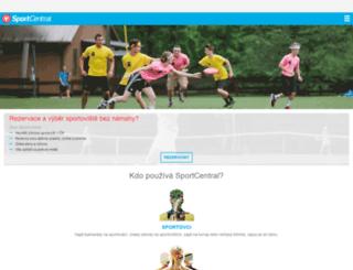 sportcentral.com screenshot