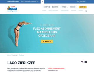 sportcentrumonderdak.nl screenshot