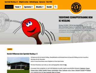 sportclub-wessling.de screenshot