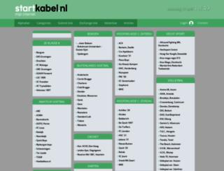 sportclub.startkabel.nl screenshot