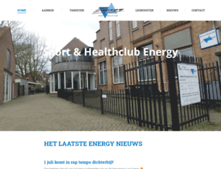 sportclubenergy.nl screenshot