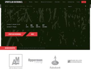 sportcluboverdinkel.nl screenshot