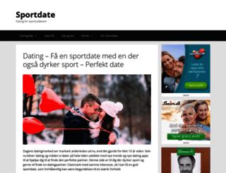 sportdate.dk screenshot