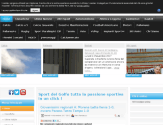 sportdelgolfo.com screenshot