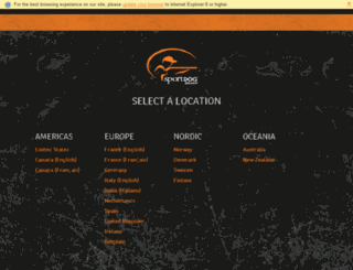 sportdogglobal.com screenshot