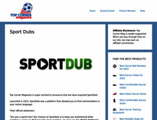 sportdub.com screenshot