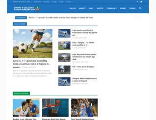 sportecalcio.it screenshot
