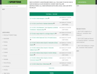 sportend.com screenshot
