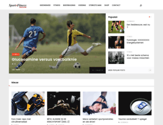 sportenfitness.nl screenshot