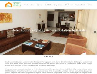 sporteventsaccommodation.com screenshot