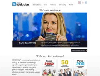 sportevolution.pl screenshot