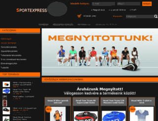 sportexpress.hu screenshot