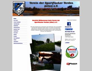 sportfischer-verden.de screenshot