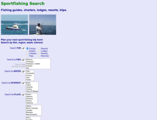sportfishing.com screenshot