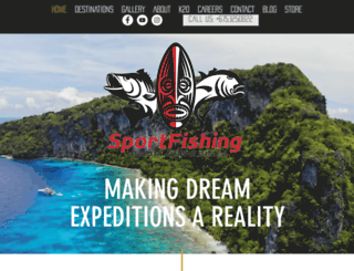 sportfishingpng.net screenshot
