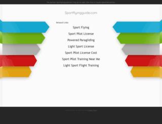 sportflyingguide.com screenshot