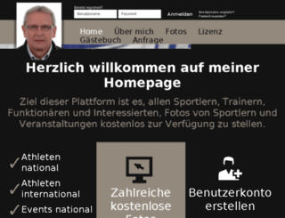 sportfoto-leichtathletik.at screenshot