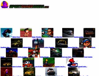 sportgamesarena.com screenshot