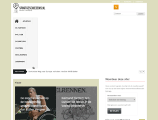 sportgeschiedenis.nl screenshot