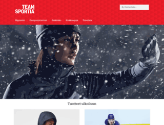 sportia.fi screenshot