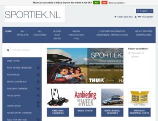 sportiek.nl screenshot