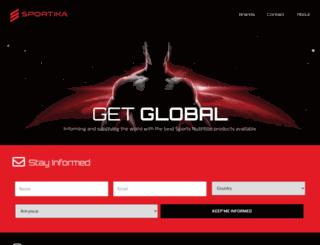 sportika.com screenshot