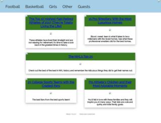 sportingbuzzdaily.com screenshot