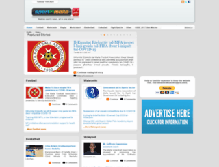 sportinmalta.com screenshot