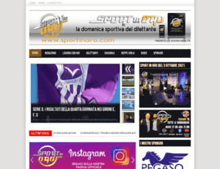 sportinoro.com screenshot