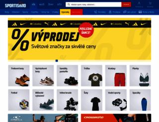 sportisimo.cz screenshot