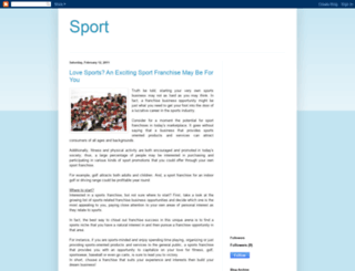 sportjoe.blogspot.com screenshot