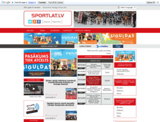 sportlat.lv screenshot