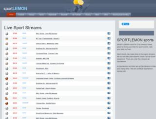 sportlemon.org screenshot