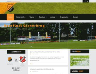 sportlust-glanerbrug.nl screenshot