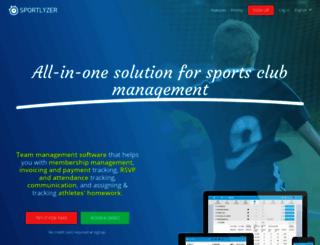 sportlyzer.com screenshot