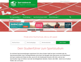 sportmanagement-studieren.de screenshot