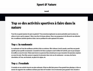 sportnat01.fr screenshot