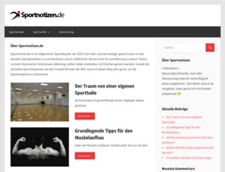 sportnotizen.de screenshot