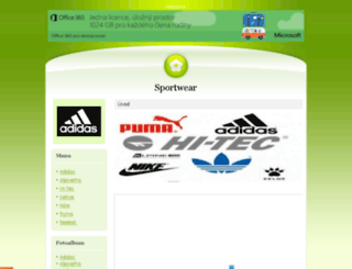 sportobuv.estranky.cz screenshot