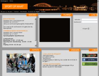 sportopmaat.boxed.nl screenshot