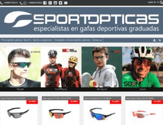 sportopticas.com screenshot