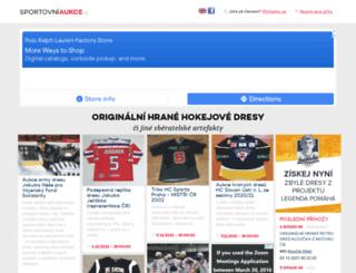 sportovniaukce.cz screenshot