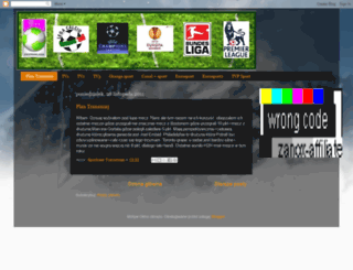 sportowe-transmisje-tv.blogspot.com screenshot