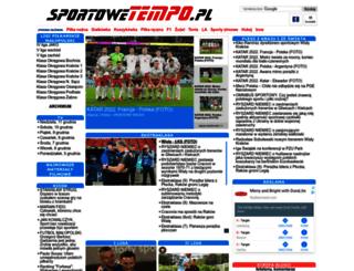 sportowetempo.pl screenshot