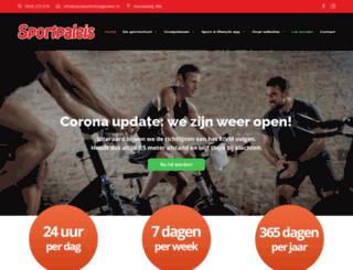 sportpaleishoogeveen.nl screenshot