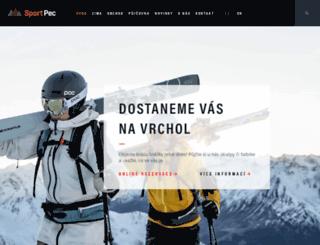sportpec.cz screenshot