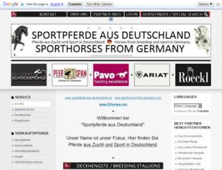 sportpferde-aus-deutschland.de screenshot