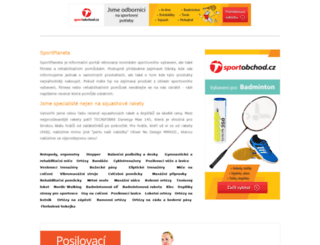 sportplaneta.cz screenshot