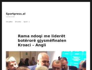 sportpress.al screenshot